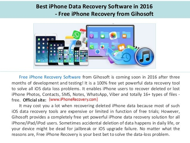 best software for iphone