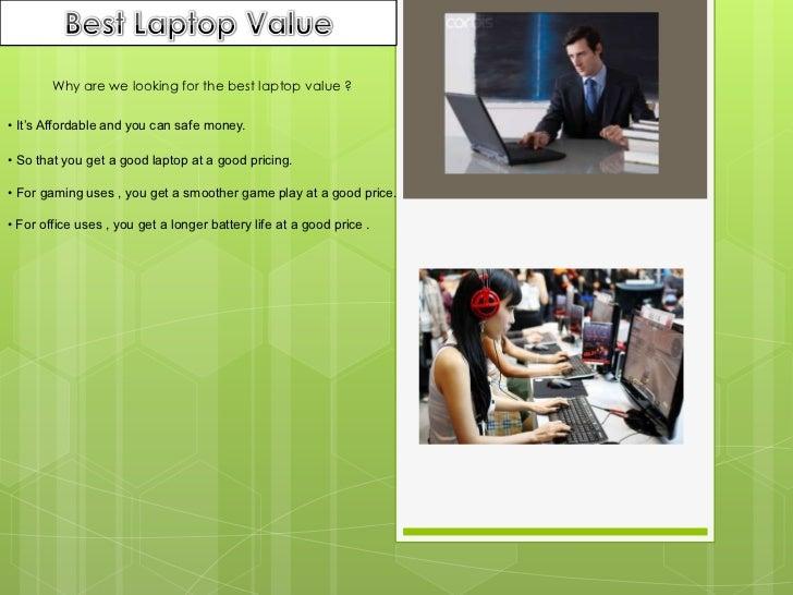 Best laptop values