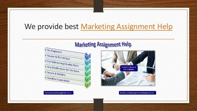 Buy marketing homework
