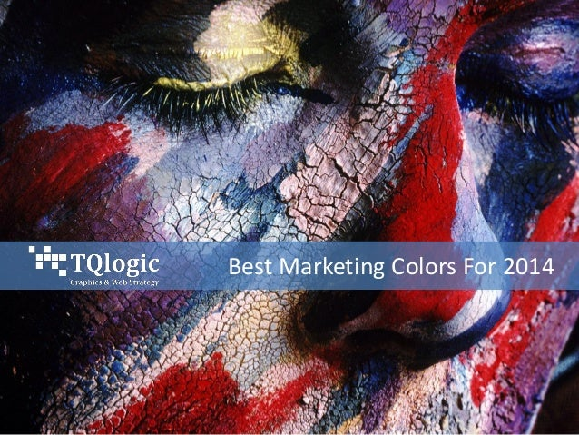 Best Marketing Colors For 2014