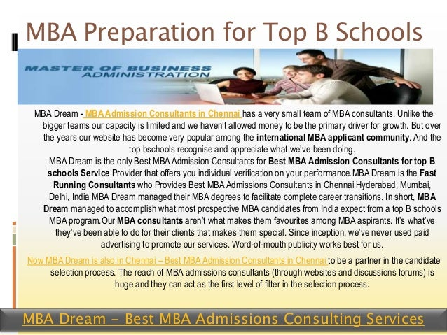 How can I best prepare myself for the MBA?