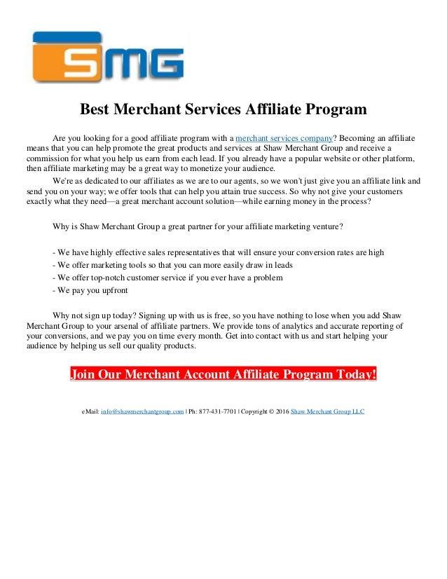 service affiliate program