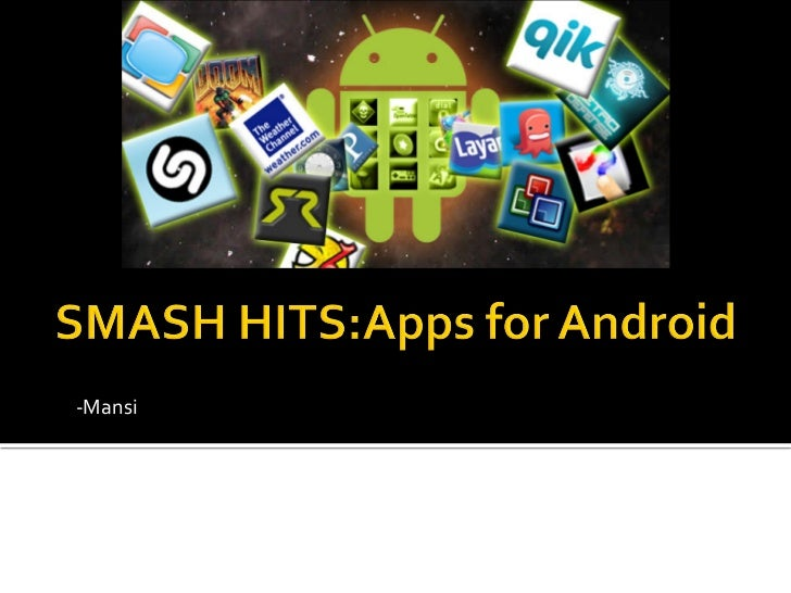 Best mobile apps for android
