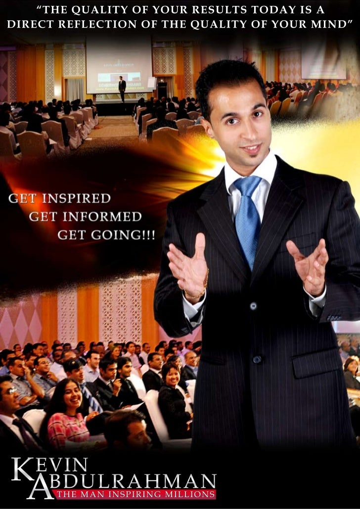 Kevin Abdulrahman Speaker Profile - Best Motivational Speaker Asia