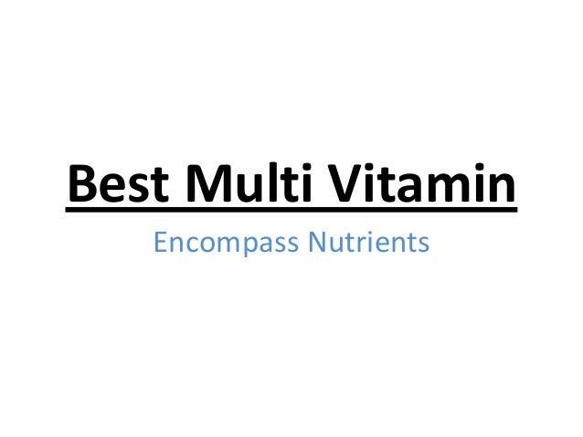 Best multi vitamin