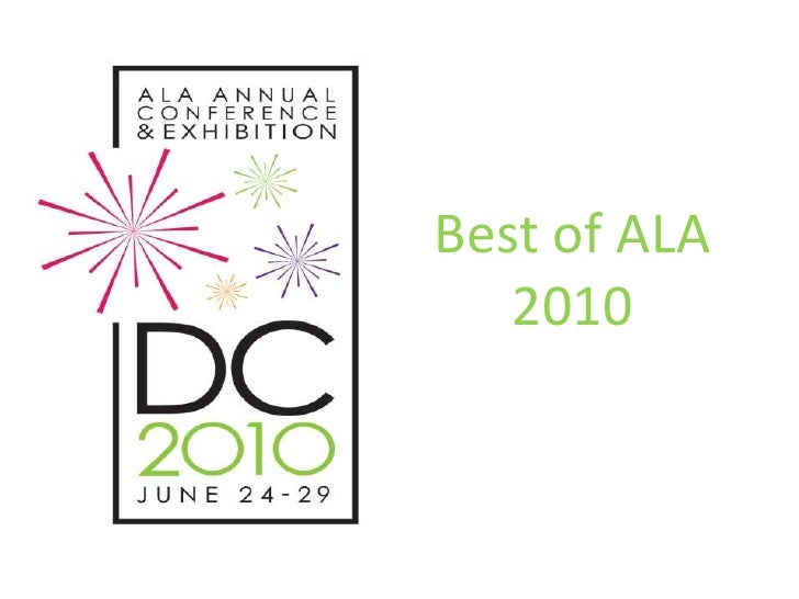 Best of ALA 2010<br />