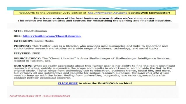 2010 Best of Business Web