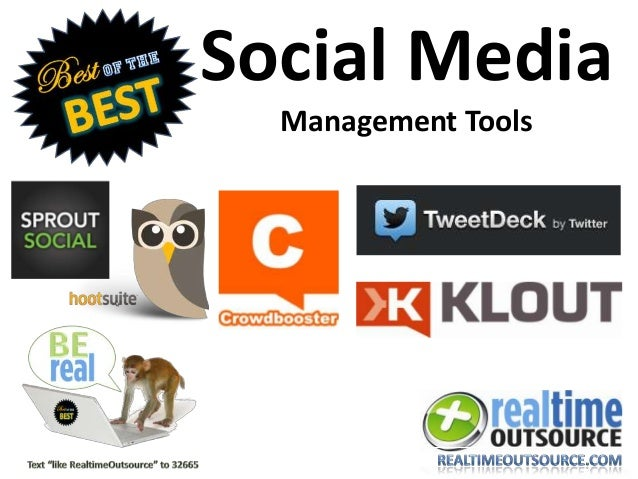 Best of the Best: Social Management Tools
