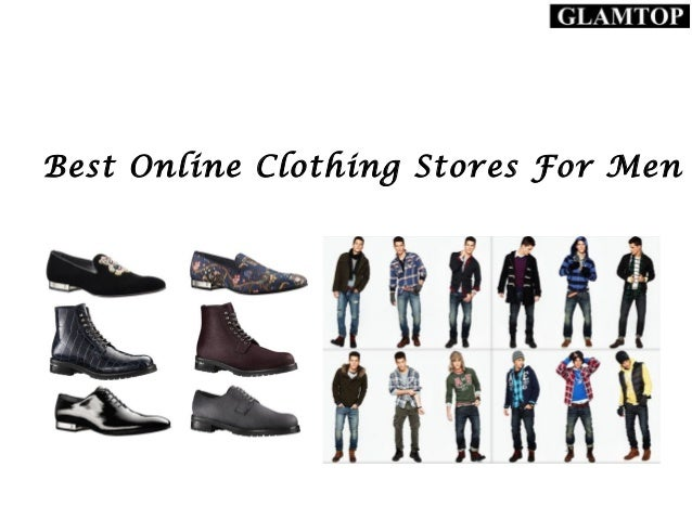 Online Clothing Shops For Men