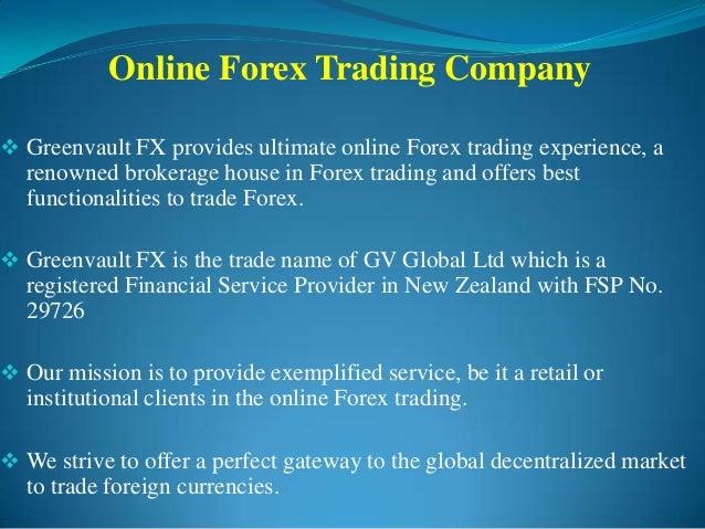 A forex company