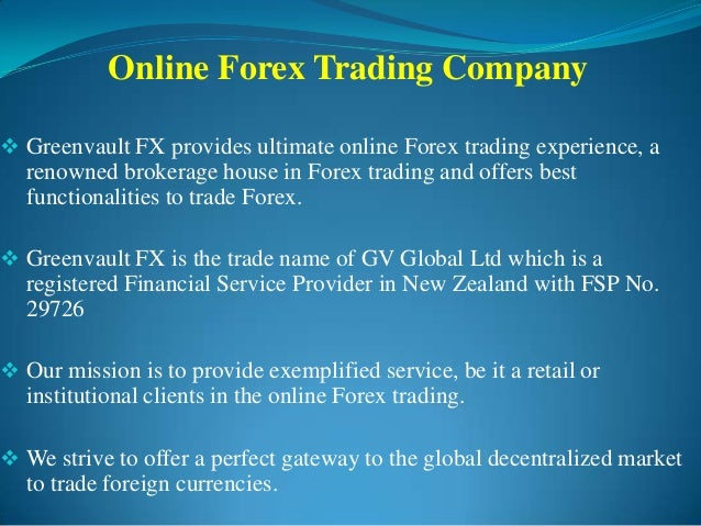 Forex international trading group inc