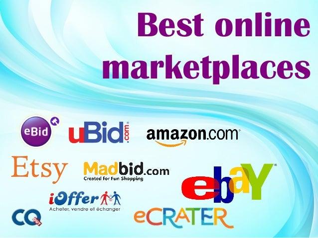 Best onlinemarketplaces