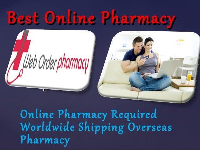 Pharmacy online worldwide shipping