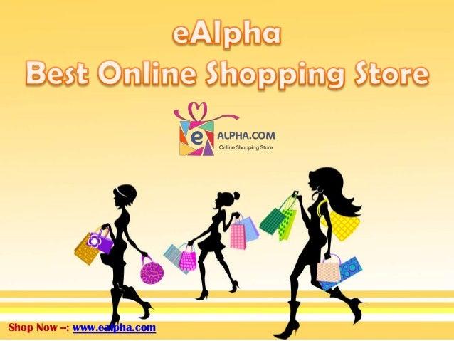 Best online shopping website india presentation