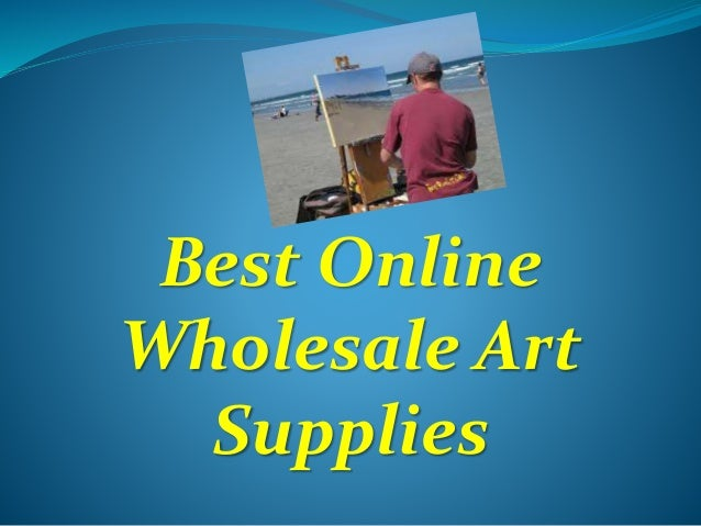 Best Online Wholesale Art Supplies
