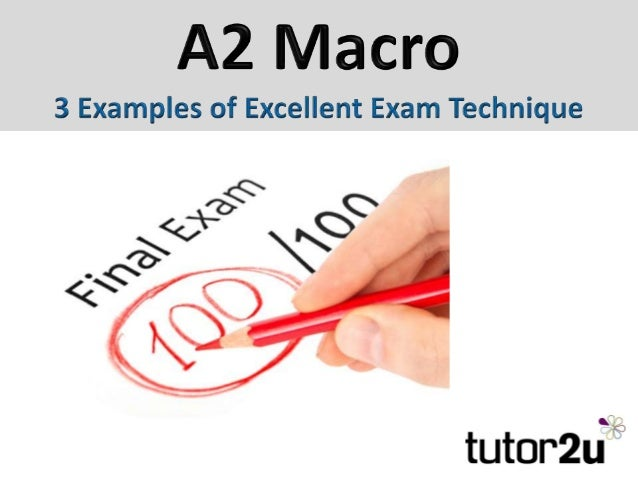 Best Paragraph Structure For A2 (Unit 4) Macro