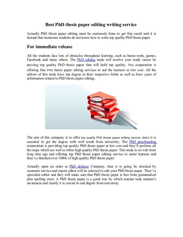 Top Letter Proofreading Websites For Phd