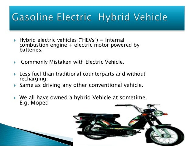 a paper on hybrid electric vehicles Honda and hybrid electric vehicles honda was founded in hamamatsu, japan, by soichiro honda in 1946 as the honda technical research institute the company began as a developer of engines for bicycles, but by 1949 it had produced its first motorcycle, called the dream.
