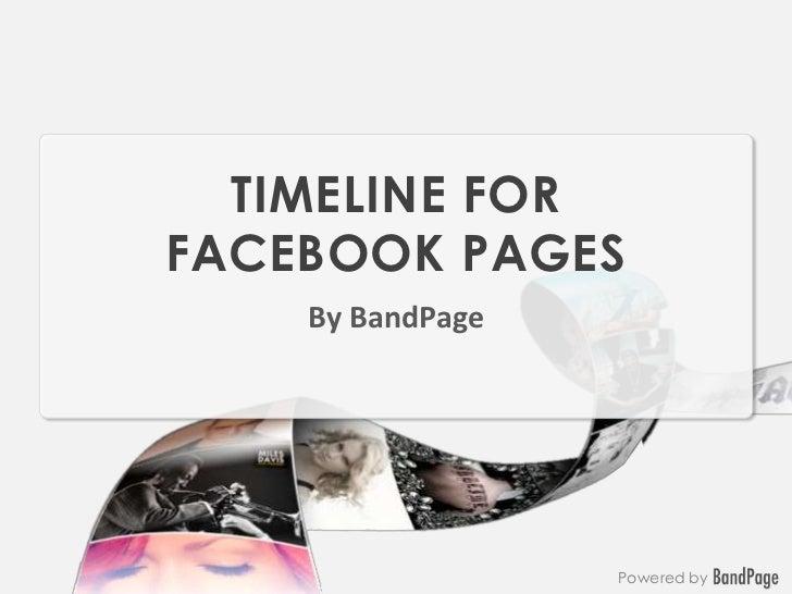 Timeline for Facebook Pages
