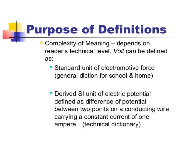 it definitions case essay