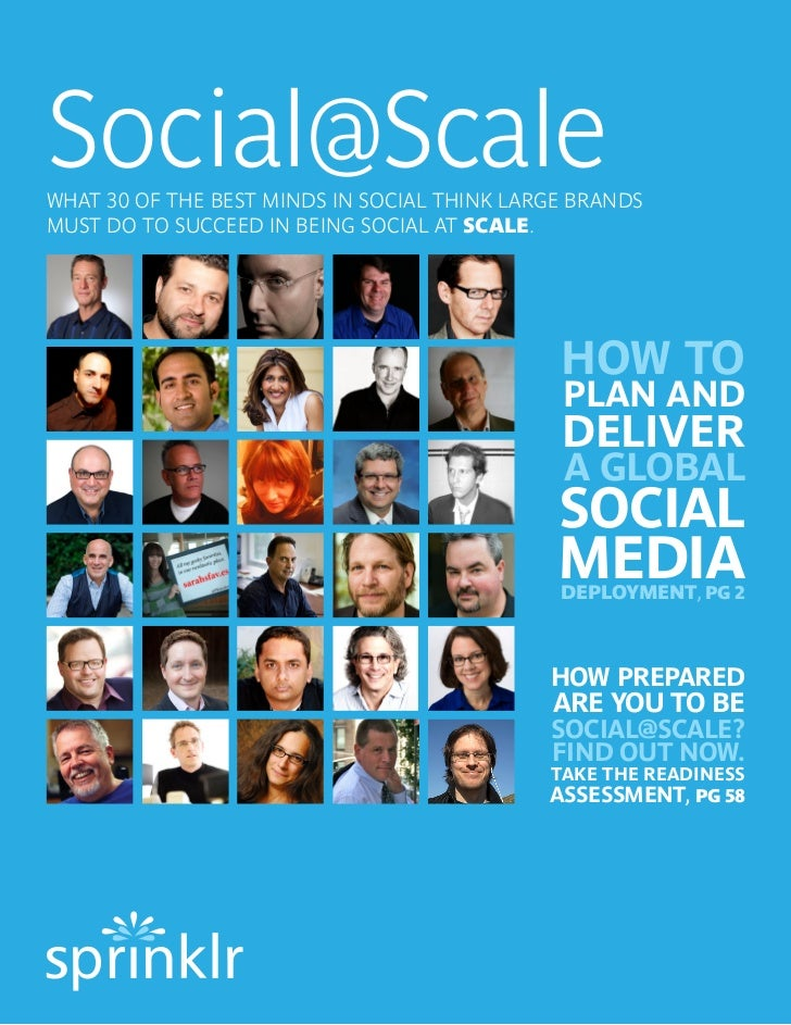 Best Practices for Enterprise Social Media Management by the Dream Team
