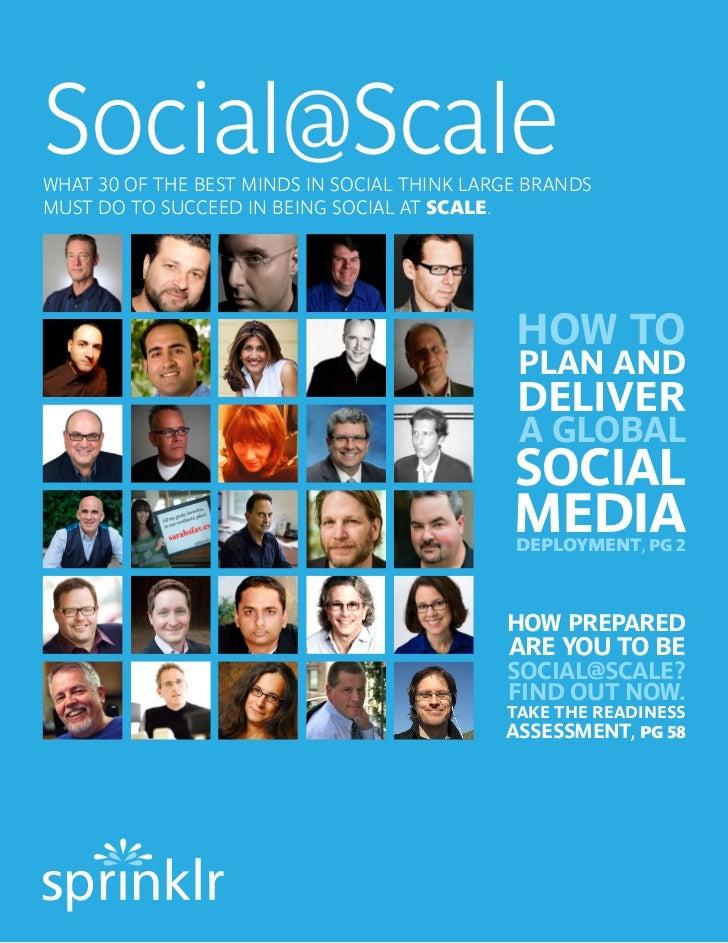 Best Practices for Enterprise Social Media Management by the Dream Team