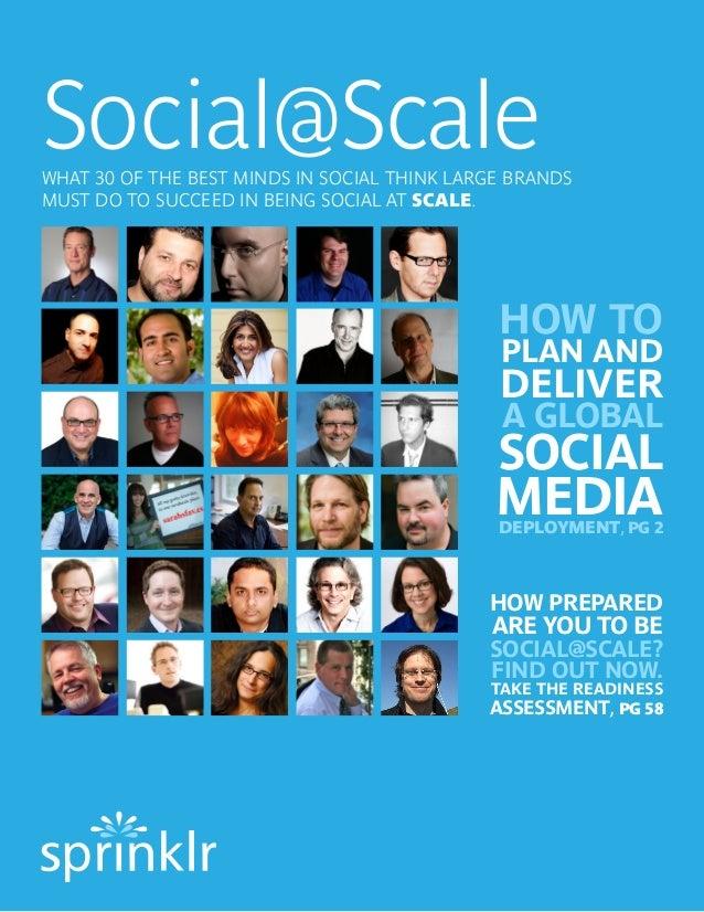 Best practices For Enterprise Social Media Management #SocialMediaDreamTeam