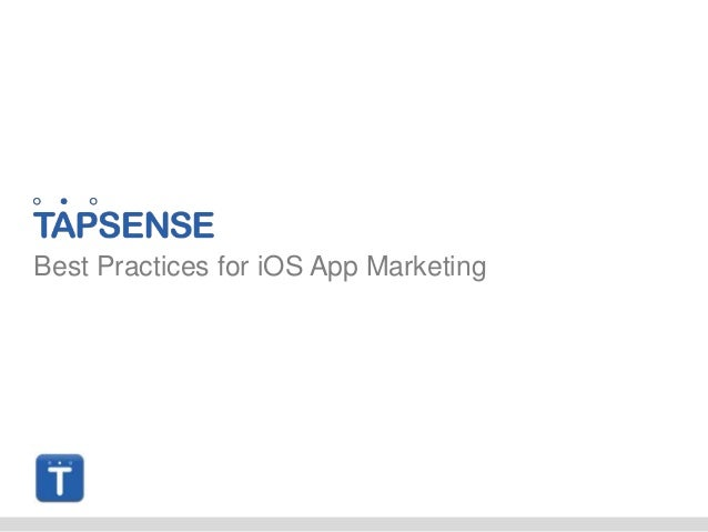 Best Practices for iOS App Marketing