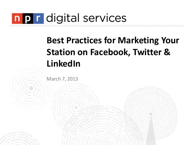Best Practices for Marketing Your Station Final