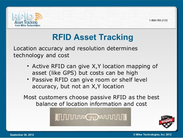 rfid asset tracking cost benefit analysis Cost benefit analysis of an rfid asset brought to you by automatic identification systems cost‐benefit analysis of an rfid asset tracking system shayne pidding, ramp rfidtyre management - rfid tec you can't manage what you can't measure bar code rfid requires line -of - site requires correct orientation easily obscured by dirt easily.