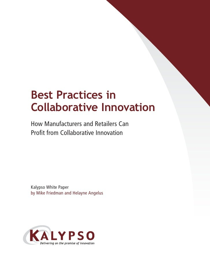 Collaborative Teaching Best Practices ~ Best practices in collaborative innovation how cpg