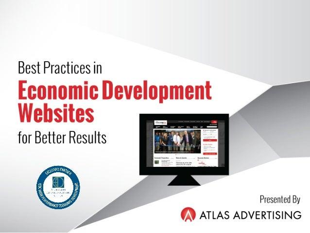 Best Practices in Economic Development Websites for Better Results