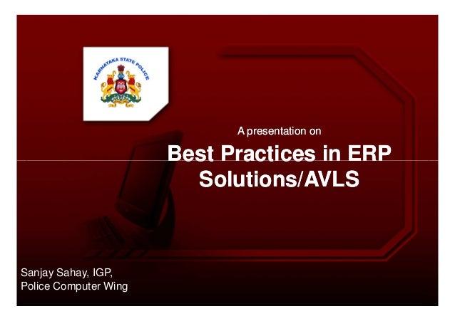 A presentation onA presentation onBest Practices in ERPBest Practices in ERPBest Practices in ERPBest Practices in ERPSolu...