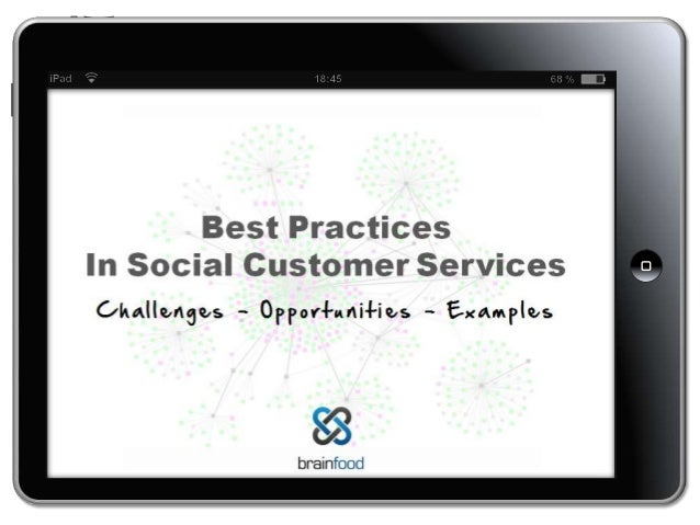 Best Practices in Social Customer Service Excellence