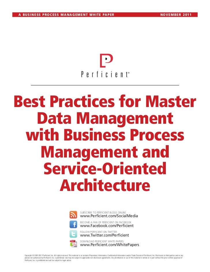 Best practices mdm_bpm_soa