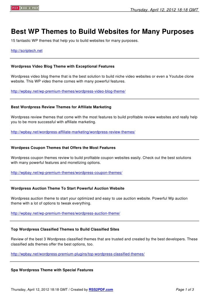 Best Premium WP Themes To Build Great Sites