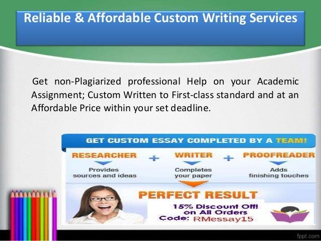 Our site boasts of professional custom essay writers whose commitment is to  deliver a customized essay that will convince your