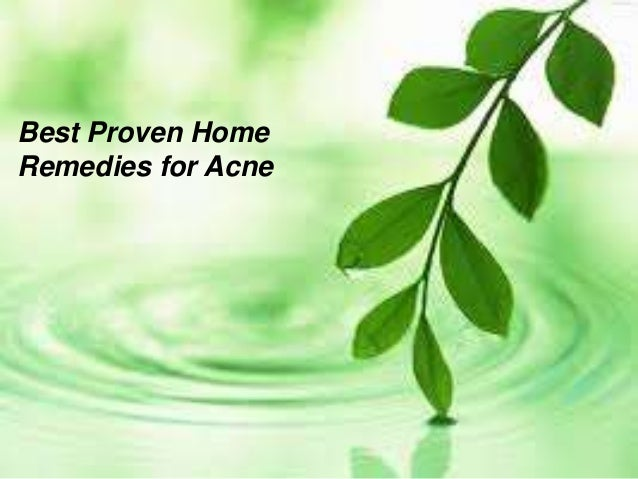 Best Proven HomeRemedies for Acne