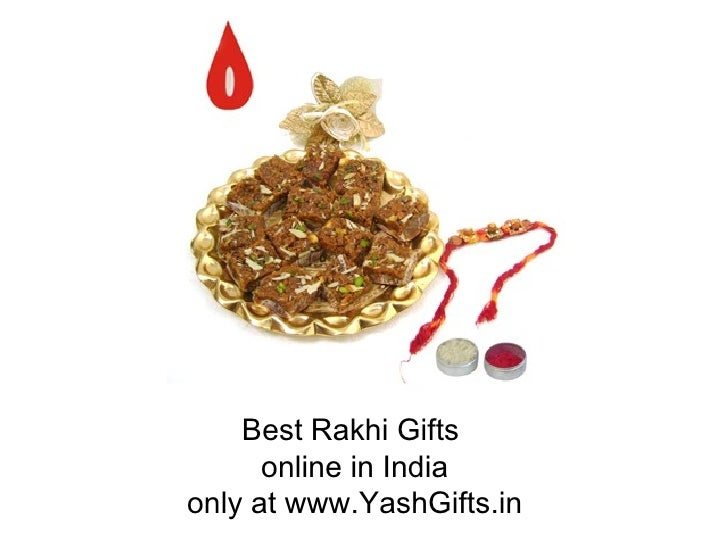 Best rakhi gifts in India at www.YashGifts.in