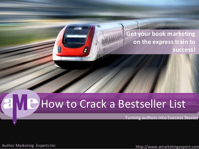 How to Crack a Bestseller List