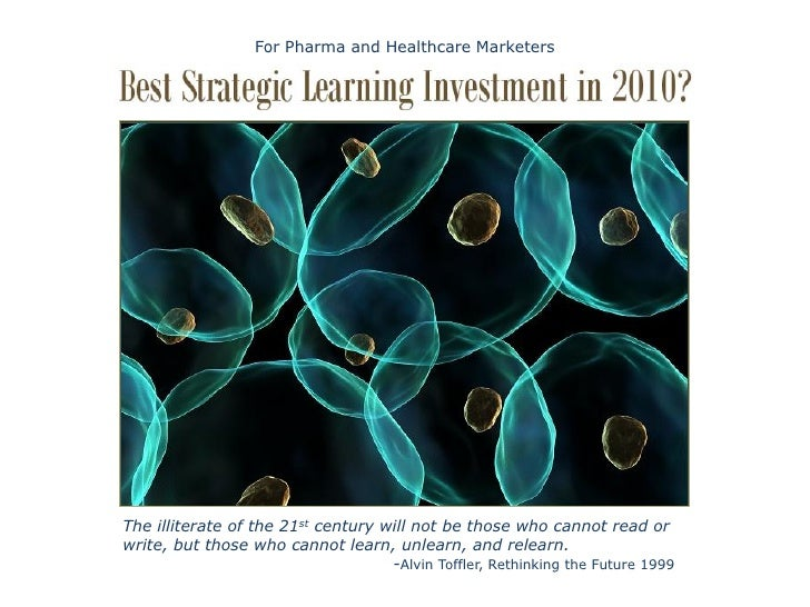 The Gift of Learning for Pharma and Healthcare Marketers In 2010 (free eBook)