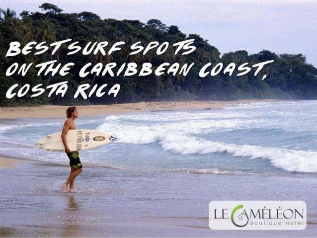 Best surf spots on the Caribbean Coast, Costa Rica