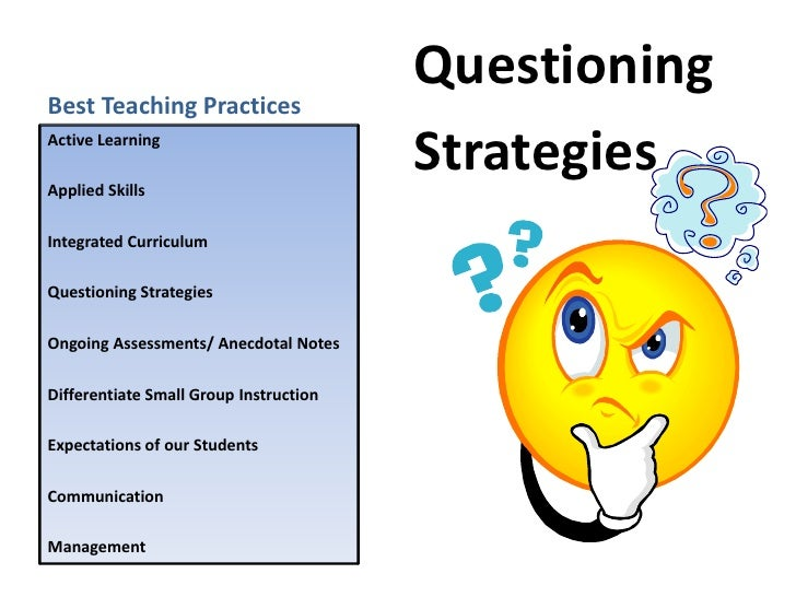 effective questioning and reacting techniques Questioning is a key skill in communication discover why we ask questions and how to make your questioning more effective to gain a deeper understanding.