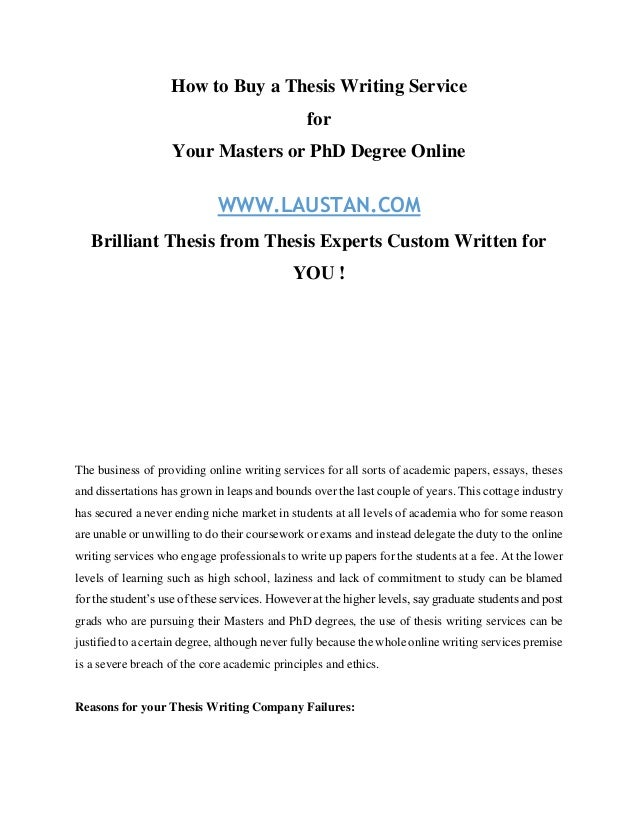 How to write a thesis  Bachelor  Master  or PhD  and which