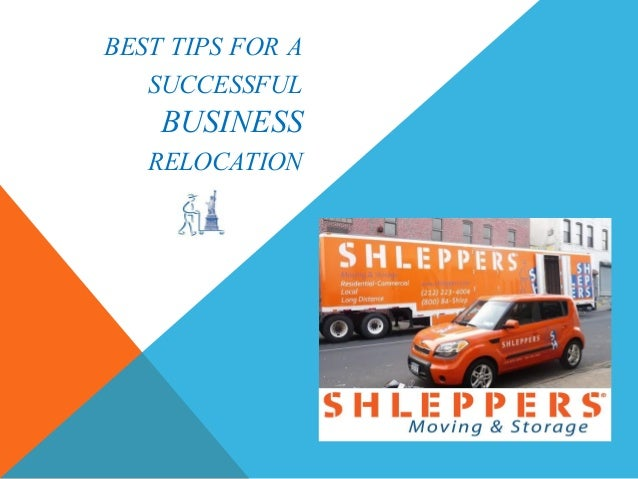 Best tips for a successful business relocation