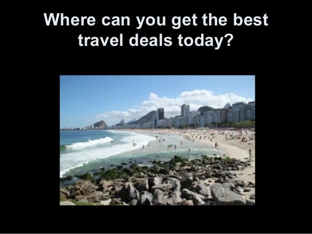 Best Travel Deals Today
