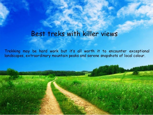 Best Treks with killer views