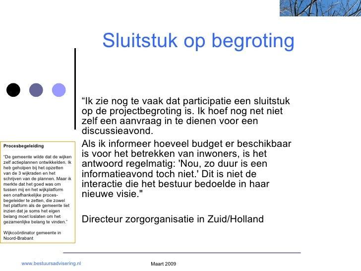Bestuursadvisering participatie interactie wijkraden dorpsraden klankbordgroepen burgers overheid interim