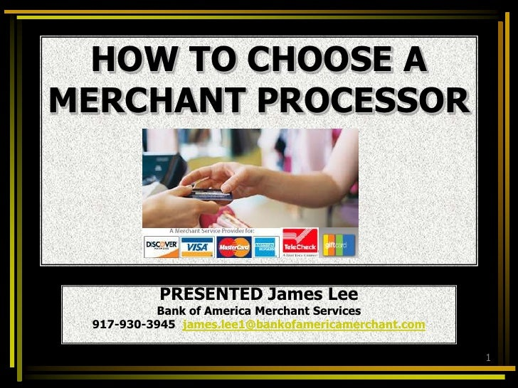 Best Way To Set Up Your Merchant Account