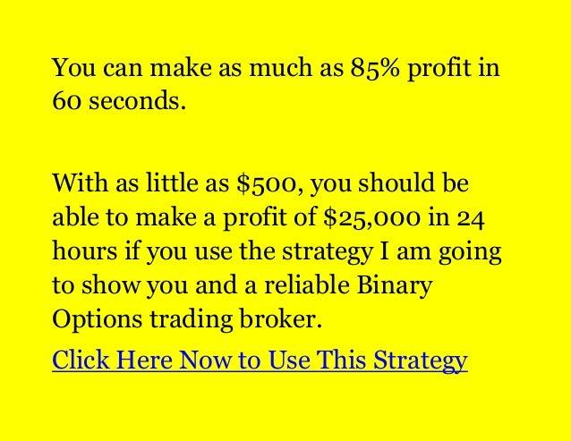 Top binary options companies